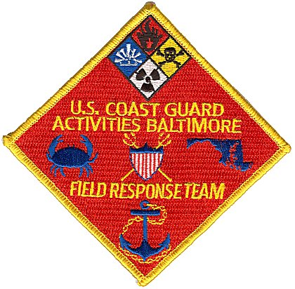 Wesslings Coast Guard Patch Store Stations - Us coast guard stations map