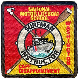 U s coast guard patch archive for National motor lifeboat school